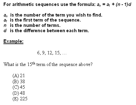 Copy Of Arithmetic & Geometric Sequences 7Th Period - Lessons