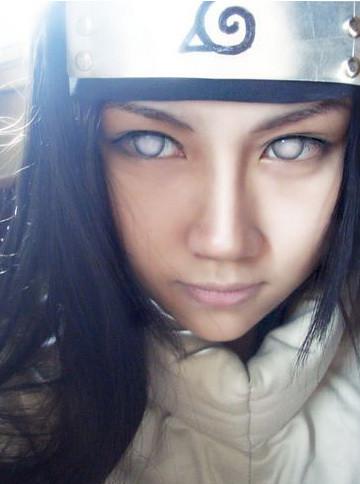 Hyuuga Hinata Cosplay on Neji Hyuga Information At Lookerun Com
