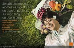 Nouvel observateur - Campagne Orange/Papilles et Pupilles