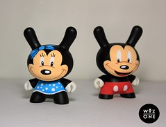 Minnie Dunny (WuzOne) Tags: toy vinyl kidrobot custom madl dunny wuzone