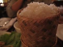 Sticky Rice - Vientiane, Laos