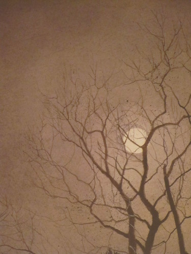 """Working Late"" by Ray Hendershot, Detail"