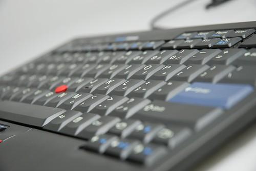 2009 ThinkPad USB小紅點鍵盤 - 26