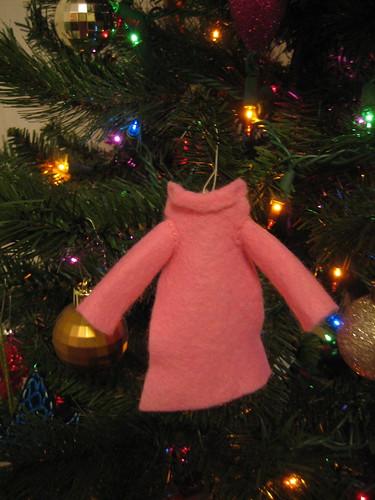 Snuggie Ornament