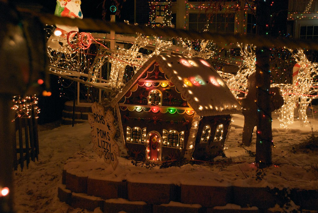 Highlands Ranch Colorado Christmas Lights