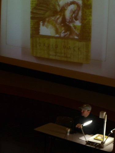 David Mack speaks at SLCPL (zoomed out)