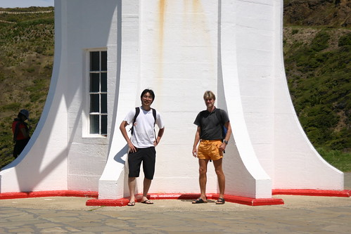 Angel and Volker @ Cape Reinga