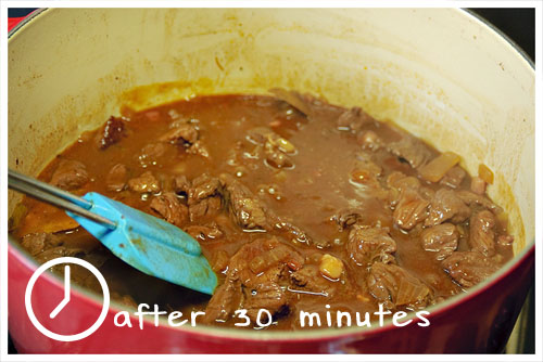 Winter Cranberry Beef Stew