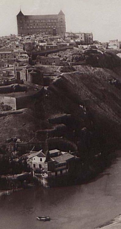Casa del Diamantista en 1883. Fotografía de Alfred Dismorr