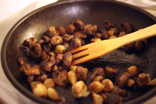 beef bourguignon mushrooms