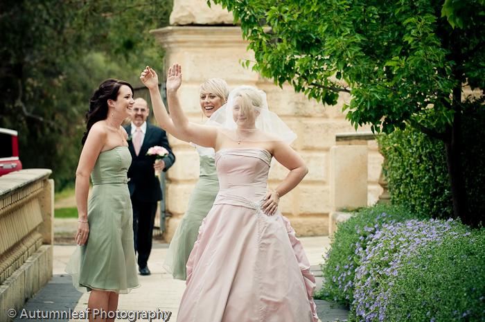 Prue & PAul's Wedding - Bride's Arrival