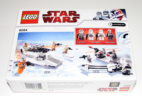 2010 LEGO Star Wars 8084 Snowtrooper Battle Pack