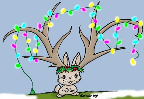 12.5.09 - Jackalope Christmas