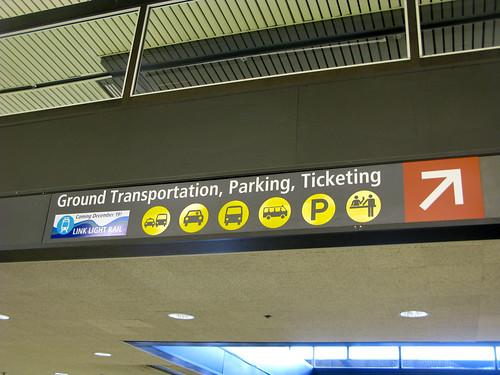 Terminal Signage, by Oran