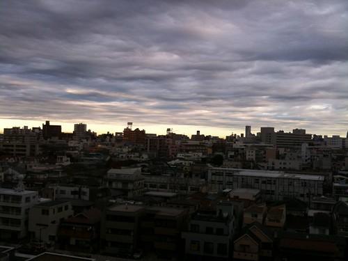 Sangenjyaya skyline