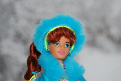 Ski Fun Midge (Michel & his dolls) Tags: pinkbox vintagebarbie malibubarbie fashionistasbarbie skifunmidge cutiefashionistas