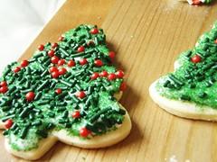 christmas sugar cookies - 30