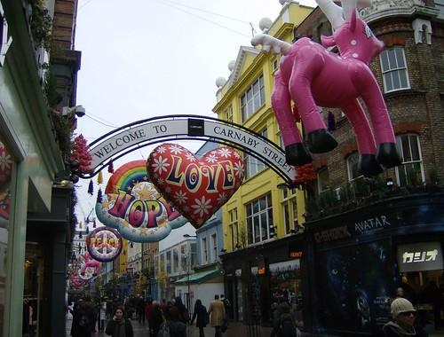 Carnaby Street Xmas, 2009