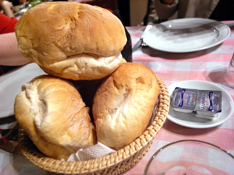 澳門 法蘭度餐廳 麵包