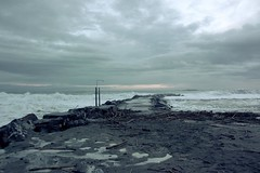 Squid sensation (Emmanuele Contini) Tags: mare liguria molo 2010 tempesta contnibb