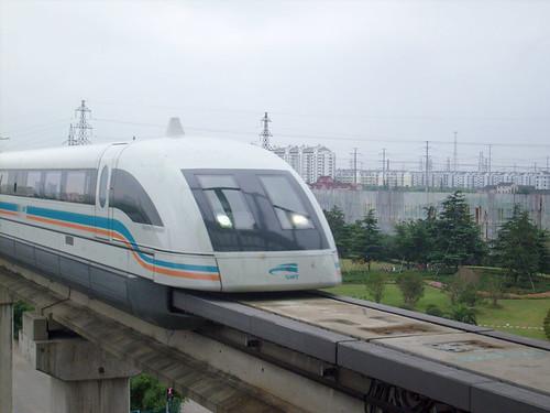 China ontwikkelt trein van 600 km per uur