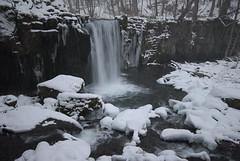 SLR_3092 (Silentmind8) Tags: winter snow water michael waterfall nikon photographer entirely thomas sigma uninteresting gorge snowing 1020mm ahern oirase wwwentirelyuninterestingcom