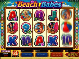 Beach Babes slot game online review