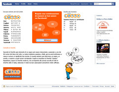 Facebook lotto application