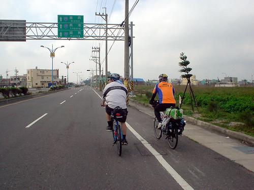 17.路上巧遇環島單車同好