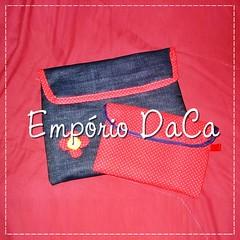 Capa de Notebook Red (emporiodaca) Tags: notebook handmade artesanato notebookbag capadenotebook empriodaca