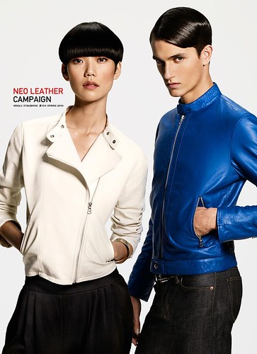 UNIQLO 0200NEO LEATHER CAMPAIGN_Jakob Wiechmann