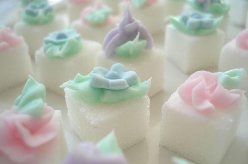 Pastel Sugar Cubes