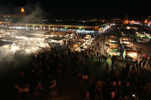 Photo of Jemaa el Fna square in Marrakech