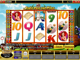 First Past The Post slot game online review