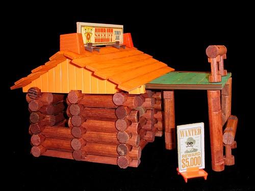 Lincoln Logs Pics. Mid 1970#39;s Lincoln Logs Cabin