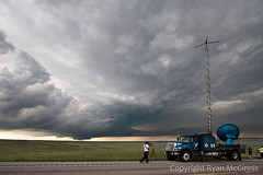 _MG_5248 (ryanmcginnisphoto) Tags: usa storm weather mobile truck project highway unitedstates science hills research parked wyoming copyspace rolling radar scientists doppler scientist meteorology webres darksky researcher nsf stormchasing stormchasers mcginnis researchers supercell goshencounty wallcloud stormchaser stormchase nationalsciencefoundation doppleronwheels cswr vortex2 dow6