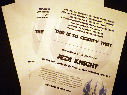 jedi training academy certificate template choice image