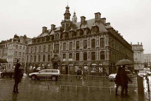 Lille city center.