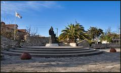 ',  (-Filippos-) Tags: monument statue village iii cyprus third 2009 paphos archbishop makarios panagia