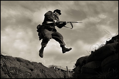 Flying-Unit (Andy Darby) Tags: shot action german kidderminster paratrooper fallschirmjager