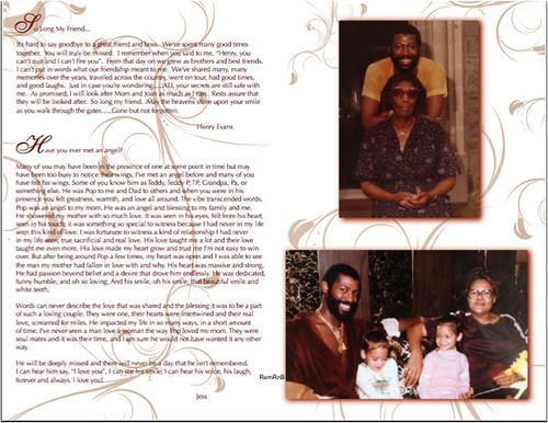 Teddy Pendergrass Program-7