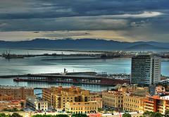 Melilla (Jocarlo) Tags: clouds edificios nubes hdr playas melilla puertos puertodemelilla pwmelilla