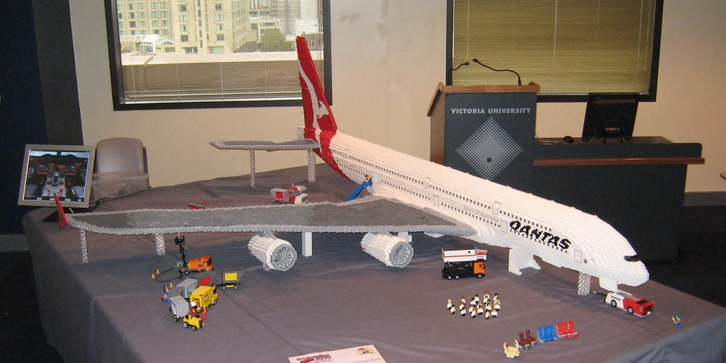 Moc Airbus A380 Lego Technic Mindstorms Model Team