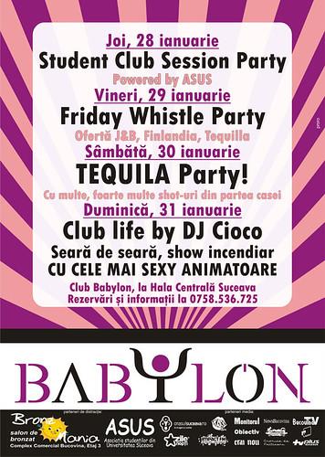 28-31 Ianuarie 2010 » Club Babylon