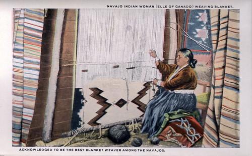 Navajo Blanket Weaver