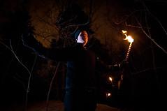 Greeting the Wights (Lars Leganger) Tags: winter snow vinter mythology snø sn nrk norse kalvøya blot kalv wights sn¿ kalv¿ya d300s satru åsatru vinterblot blót