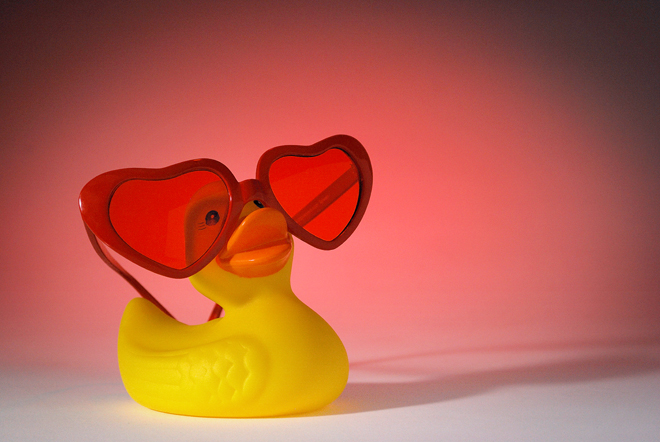 Duck! Love is in the air