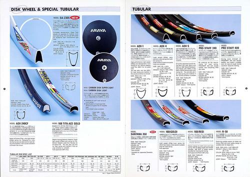 ARAYA Rims 1993 catalog