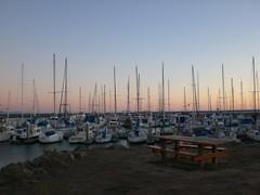 Harbor across from Oceano