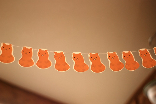 Groundhog garland